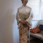 シオノデザインriccaオリジナル訪問着  結婚式