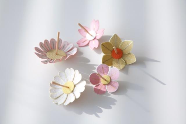 <お細工物教室>5月も「花ゴマ」を作ります!