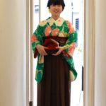 緑地大花×袴 卒業式