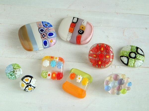 7/29浴衣文化祭・ガラスの帯留め作りましょう!
