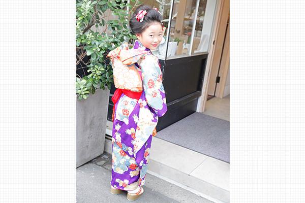 子ども新日本髪