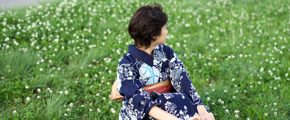 夏祭り・花火大会の着物