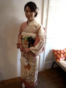 レンタル・ヘアセット・着付させていただきました/卒業式袴