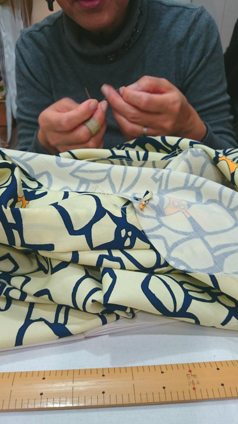 上級クラスで羽織が縫えます!!