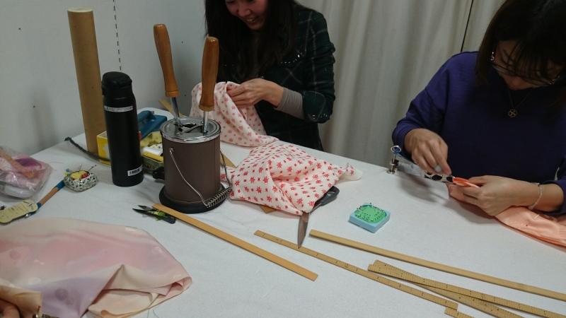 ただいま、長襦袢の無双袖作り中。
