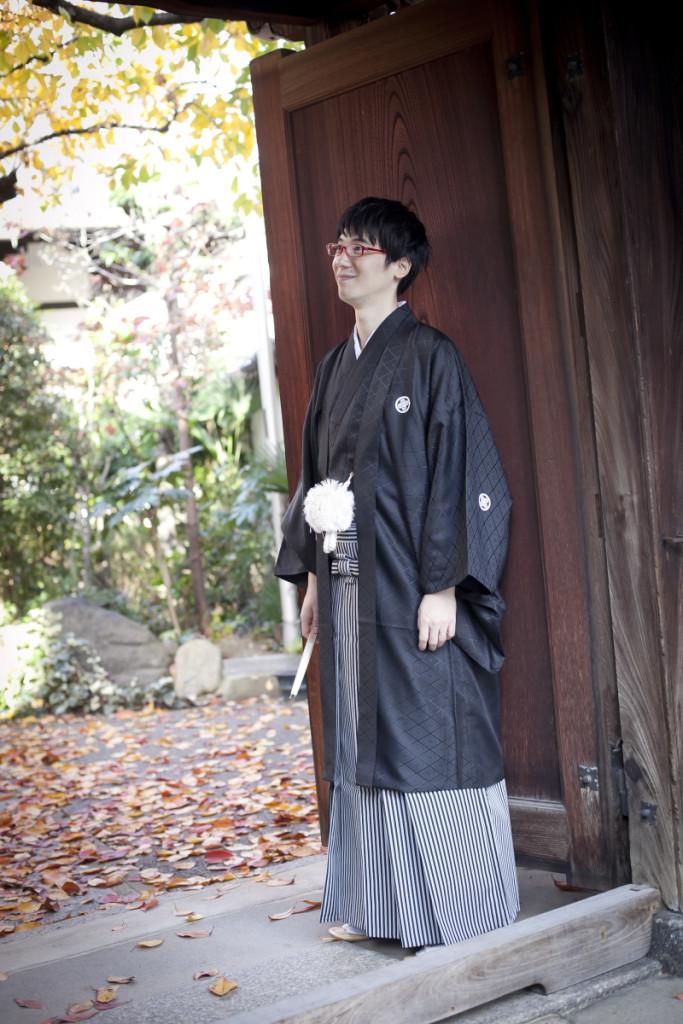 紋付袴  婚礼