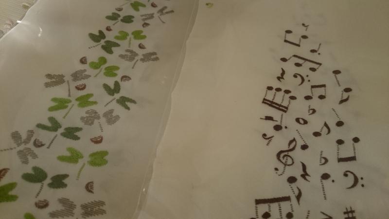 『長畑洋子 刺繍半襟展』新作到着しました!