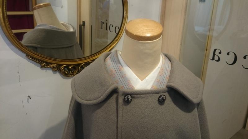 〈受注販売〉被布衿のケープも素敵です♪