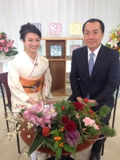 タカラヅカ スカイ ステージ「新春理事長インタビュー」にて『きもの六花』クレジットが放映されております。