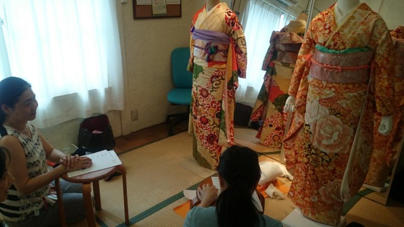 <着付教室>花嫁着付コースはじまりました。