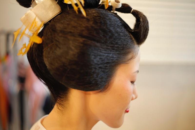 日本髪 地毛結い文金高島田 結婚式