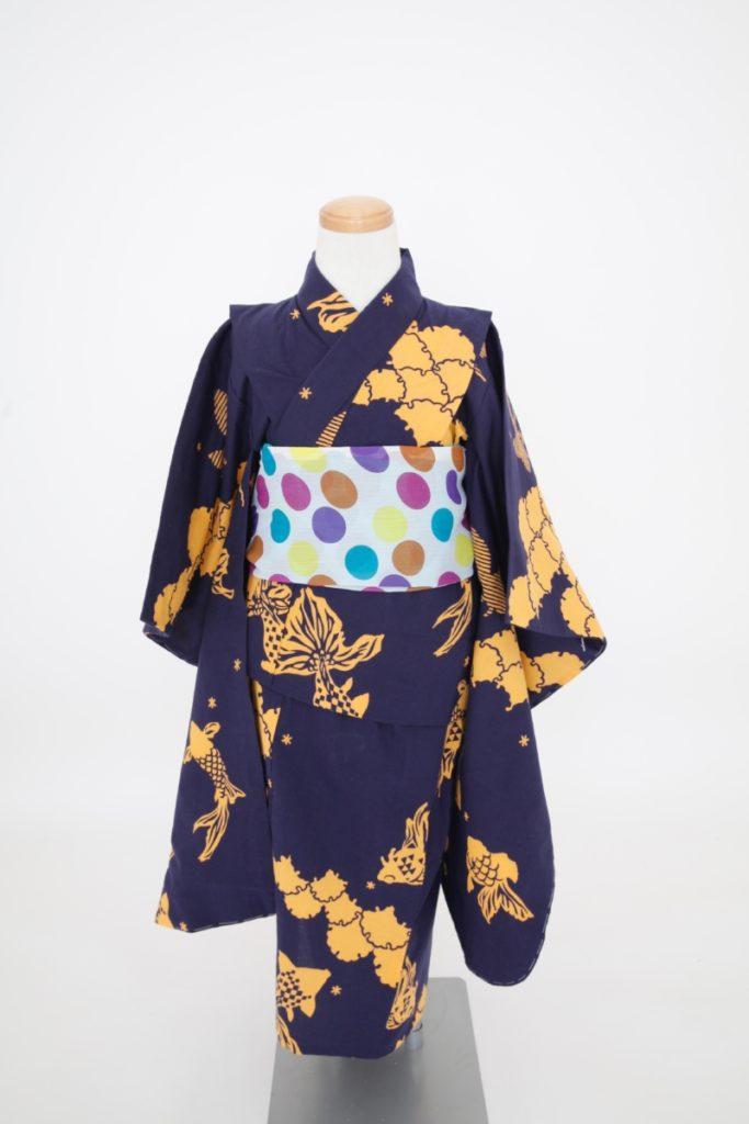 六花オリジナル子ども浴衣