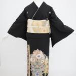黒留袖 オリエンタル花模様