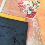 <レンタルきもの>上品なアンティーク着物の袴コーディネート