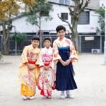 <レンタルきもの>七五三☆七歳女の子双子コーデ