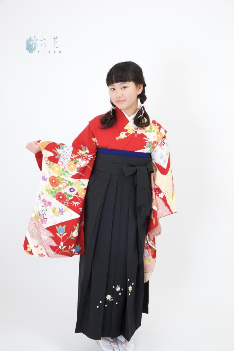 <レンタルきもの>小学校の卒業式も袴が可愛いです♡