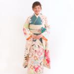 シオノ六花オリジナルターコイズ振袖