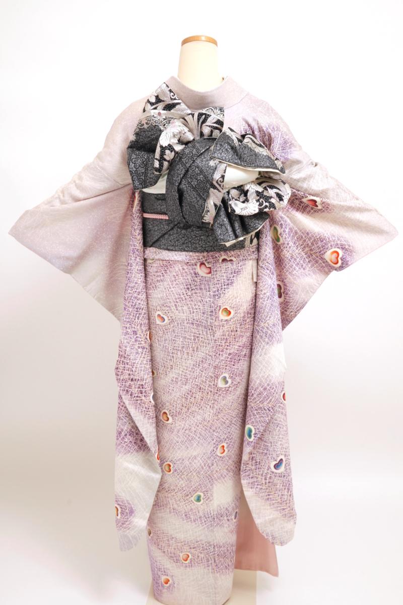 薄紫地孔雀