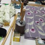 〈和裁教室〉2018年も着物を縫う。