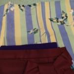 袴・半幅帯紫