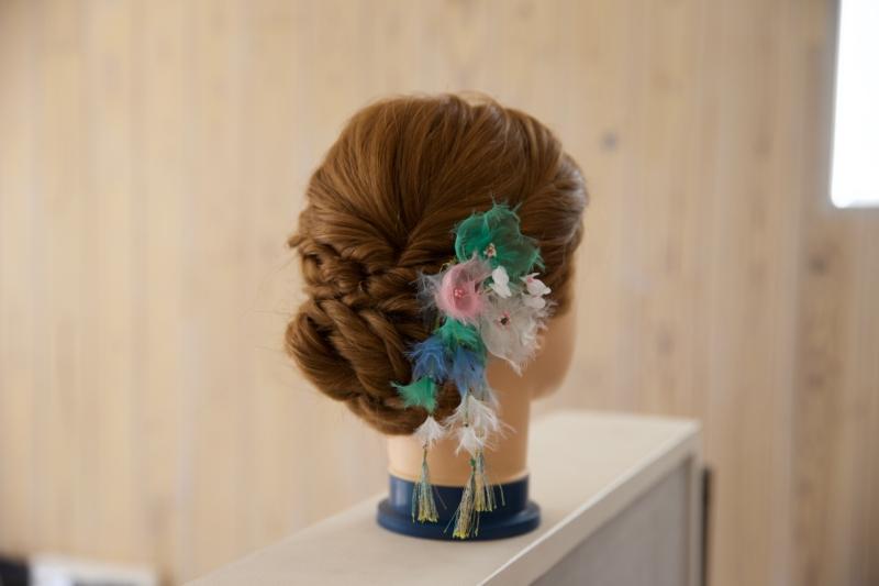 シフォン オプション髪飾り