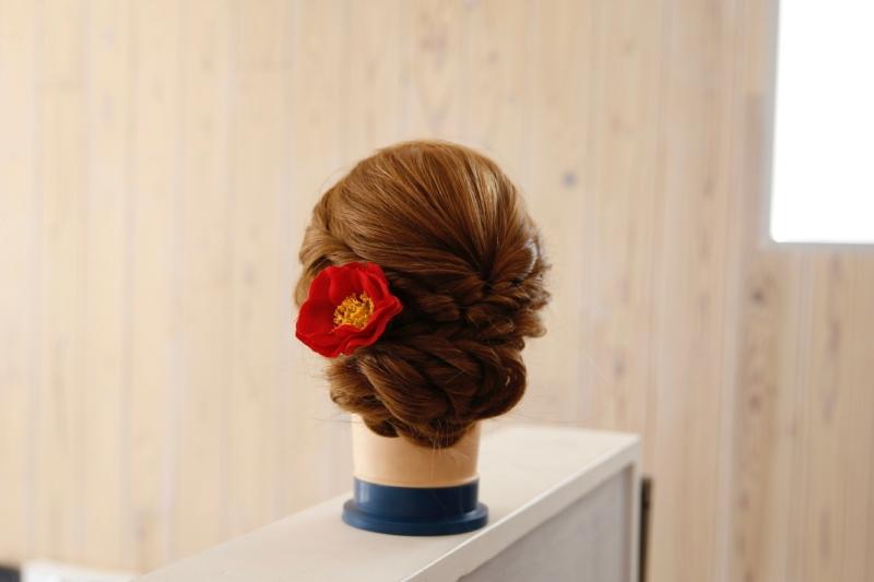 椿 オプション髪飾り