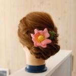 布花 オプション髪飾り