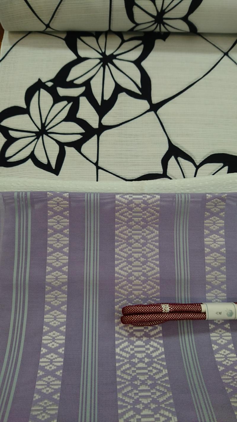 4/28(土)~『竺仙の浴衣と博多帯フェア』はじまります!