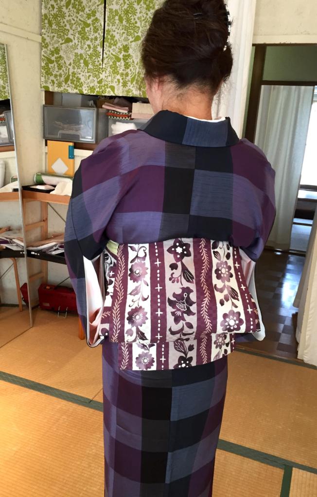 〈着付教室〉個人レッスン〜角出し結び〜