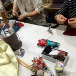 〈和裁教室〉長襦袢も縫えます。