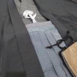 <レンタルきもの>パーティーへ・男物羽織袴