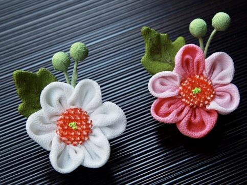 〈お細工教室〉9月、10月は『しゅうめい菊のブローチ』