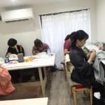 〈和裁教室〉今日から新しい教室で!