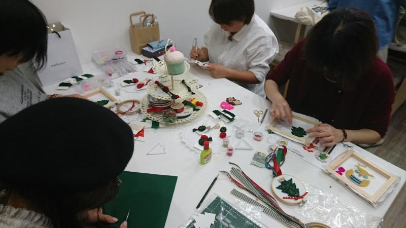 <moko刺しゅう教室>12月のレッスン募集開始しました!