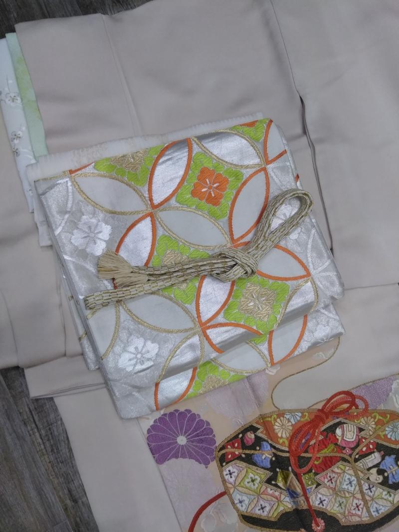 <レンタルきもの>結婚式へ。色留袖コーディネート