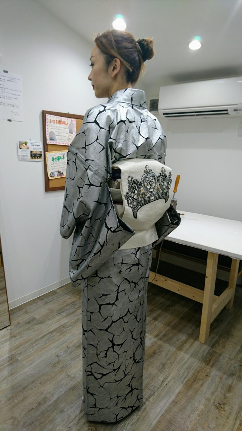 <着付教室>袋帯レッスン