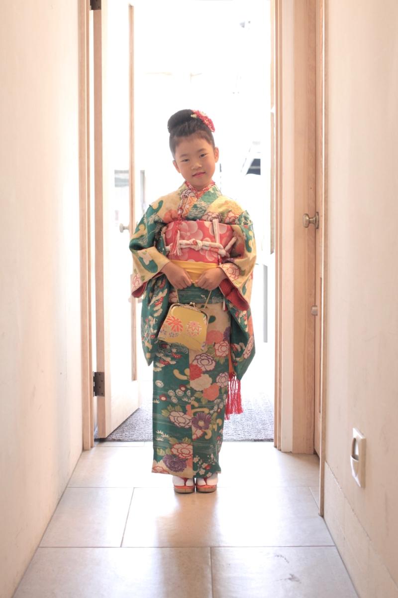 <レンタルきもの>七五三・七歳女の子コーディネート