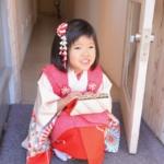 <レンタルきもの>三歳女の子コーディネート