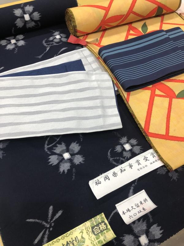 <福袋2018>半幅帯&反物セットは1万円から☆