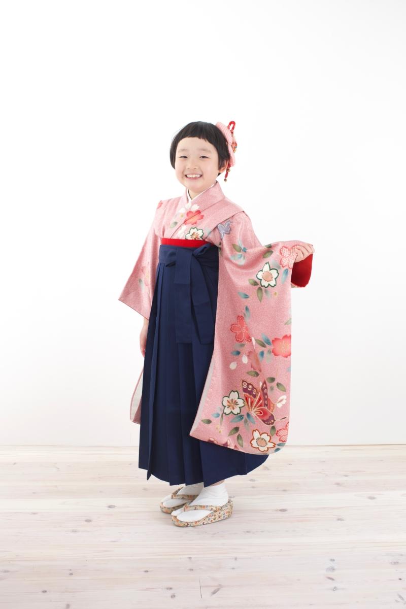<レンタルきもの>卒園式袴コーディネート