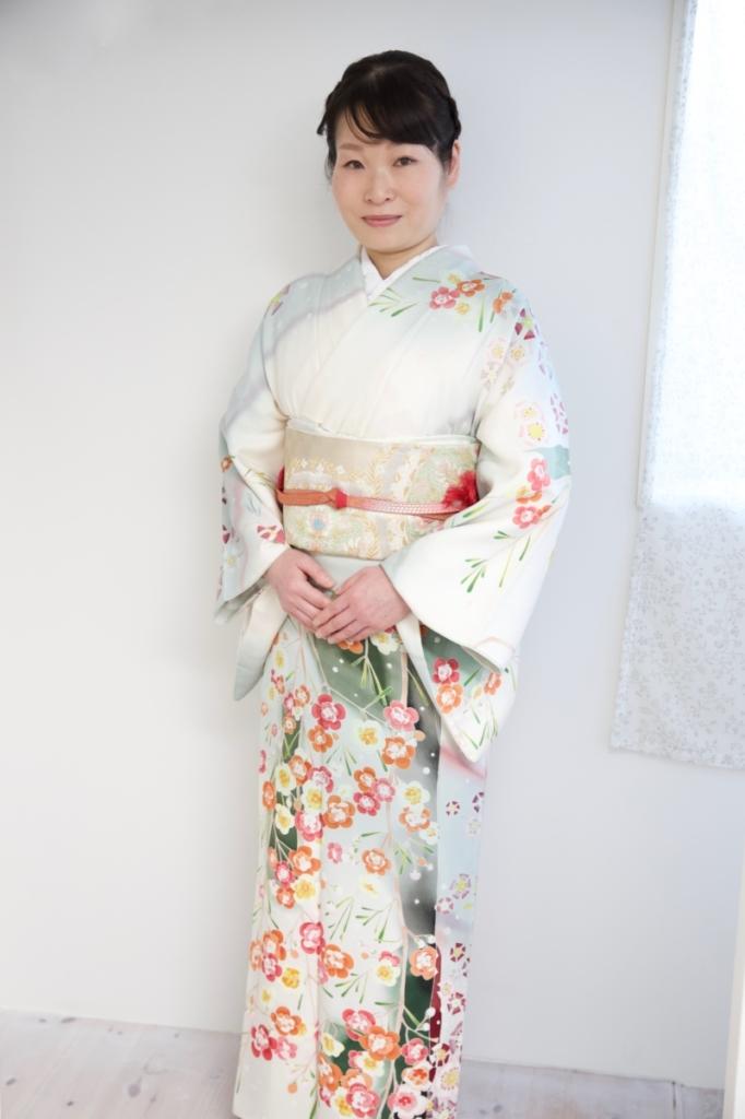 <レンタルきもの>卒業式・お母さま着物コーディネート