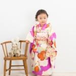 <レンタルきもの>七五三・3歳女の子写真撮影