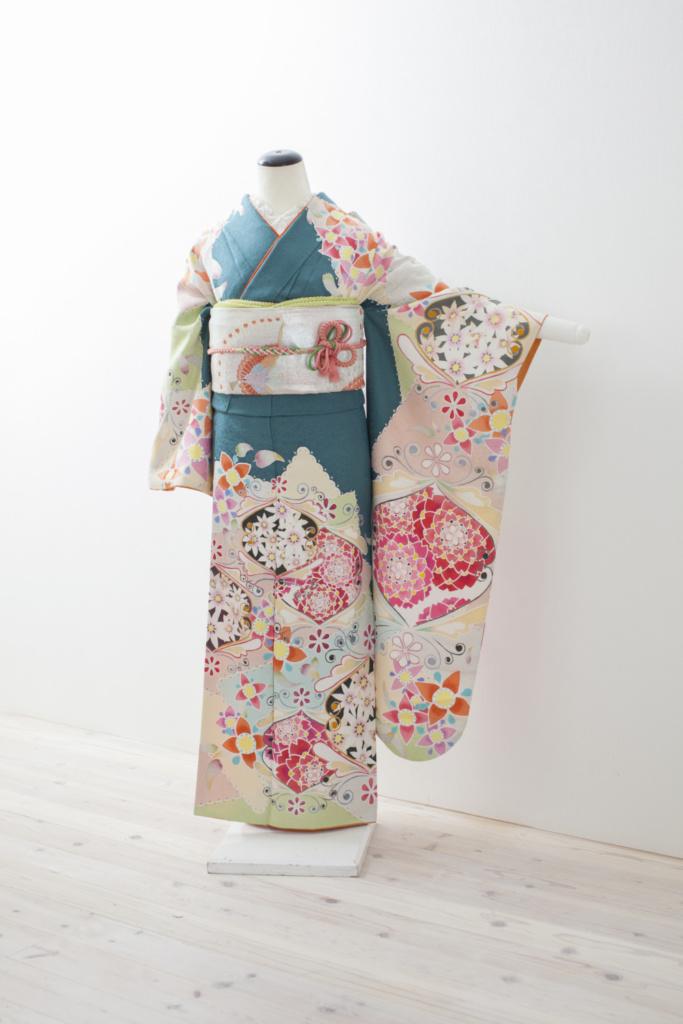 六花オリジナル・シオノデザイン振袖