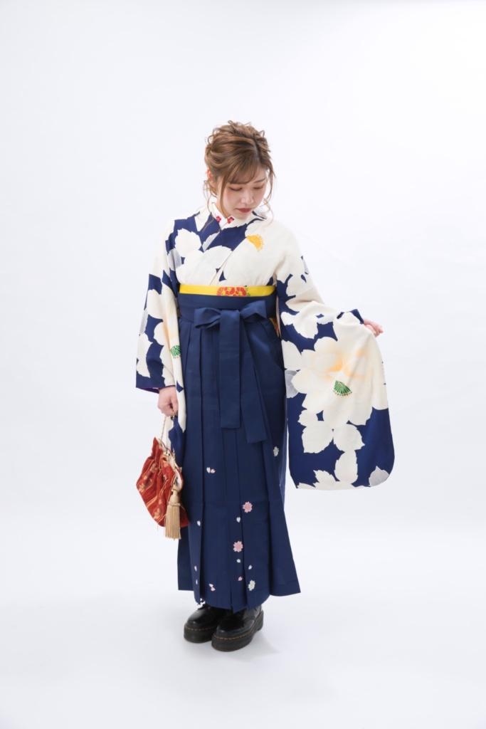 <レンタルきもの>卒業式袴コーディネート