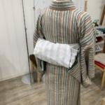 〈着付教室〉ご自身で縫われた兵児帯でレッスン