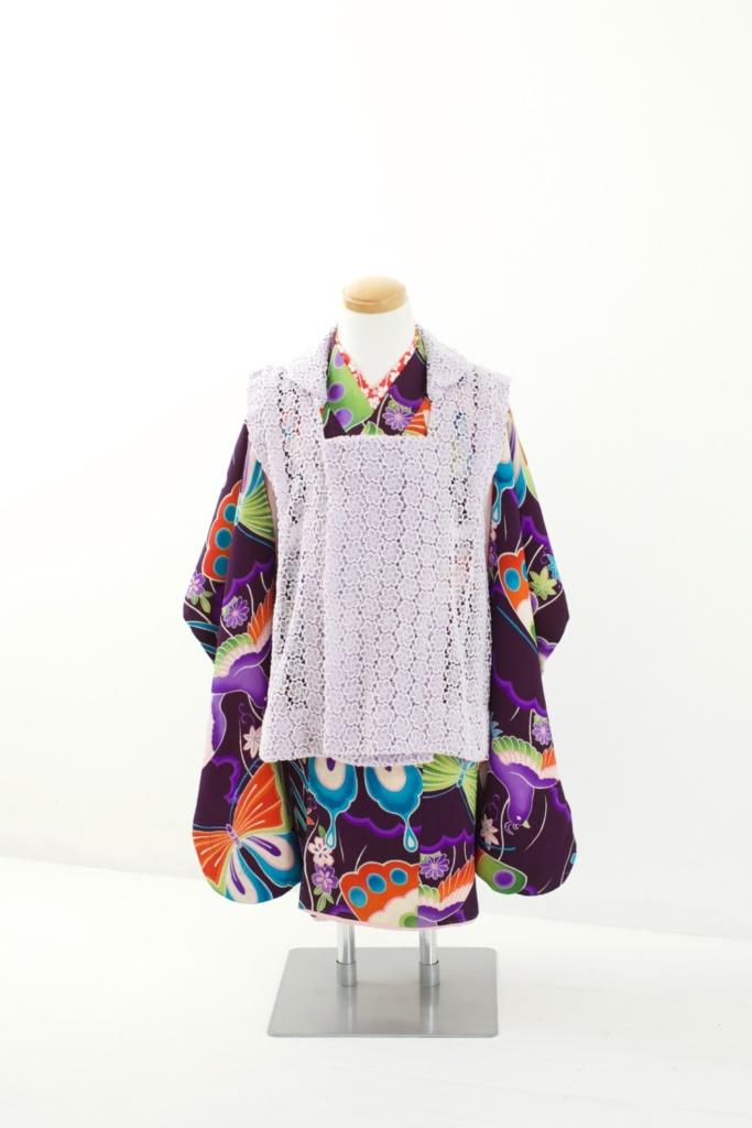紫地蝶々アンティーク《B》