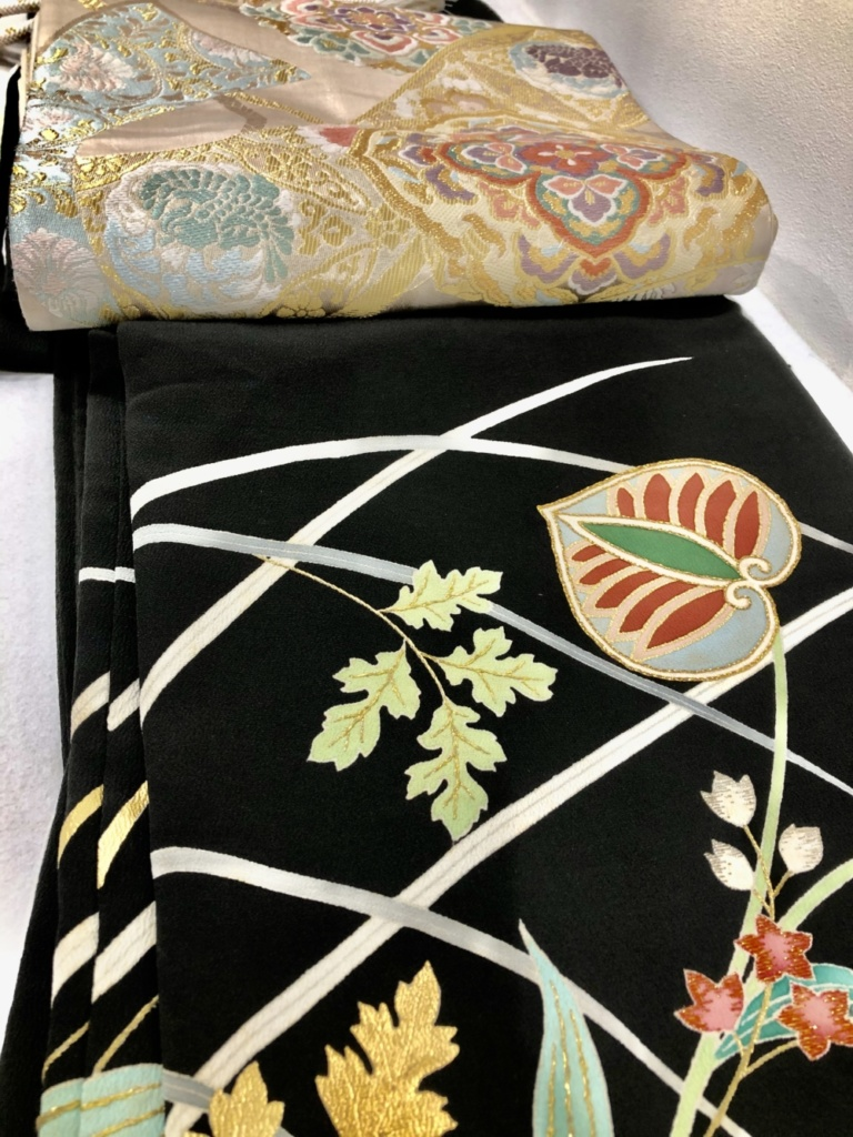 〈レンタルきもの〉結婚式 黒留袖