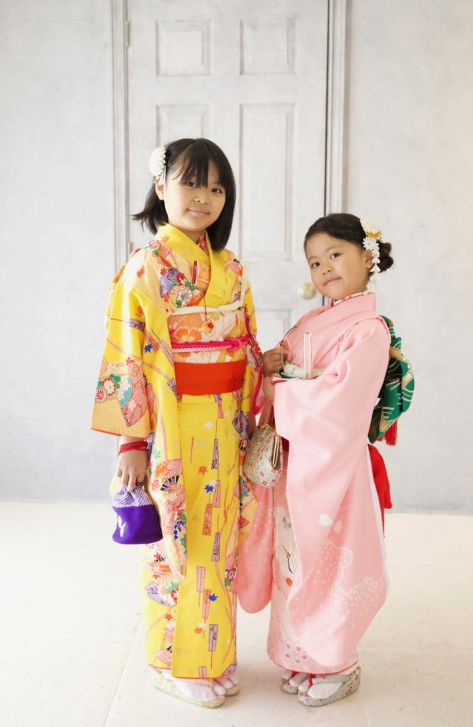 〈レンタルきもの〉七五三 7歳女児