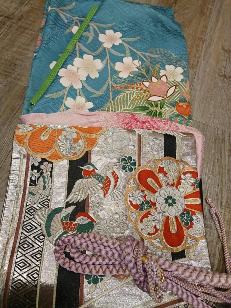 <レンタルきもの>結婚式・振袖コーディネート
