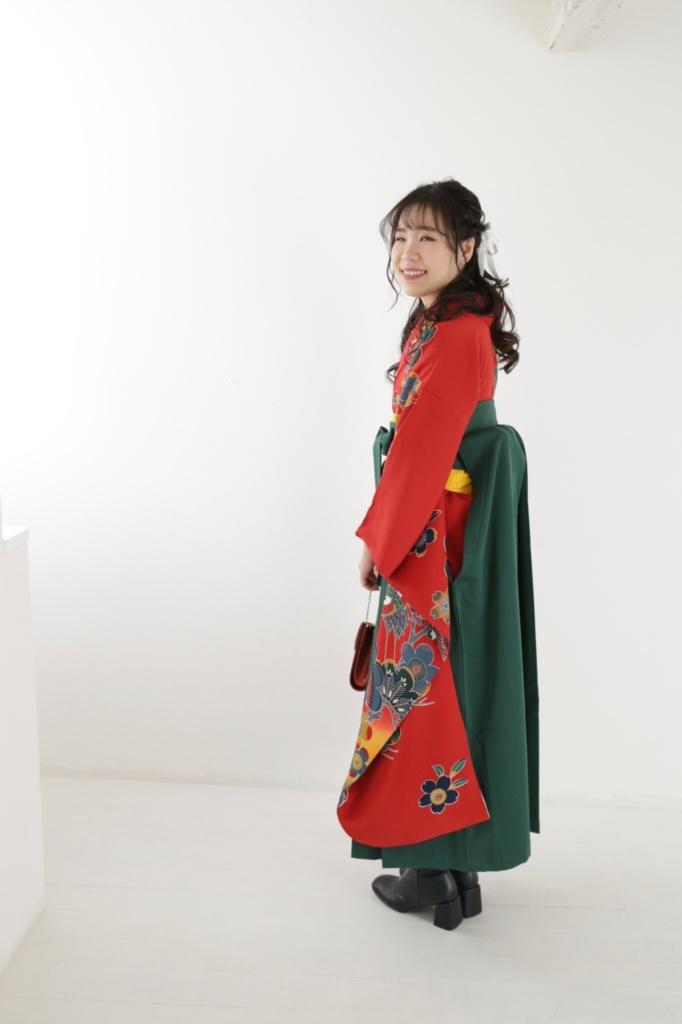 <レンタルきもの・写真撮影>卒業式 袴